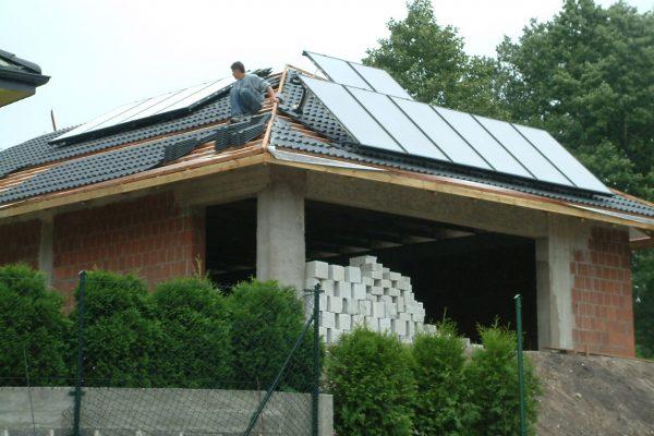 System Solarny CWU Basen Częstochowa