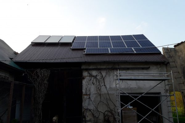 System solarny CWU Sieniawka