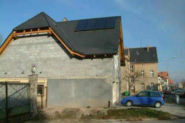 System solarny CWU Bielawa ulica Grabskiego