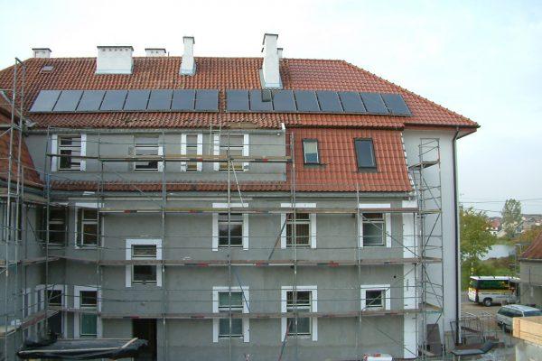 Wojewódzki Szpital Rehabilitacyjny w Górowie Iławieckim – system solarny