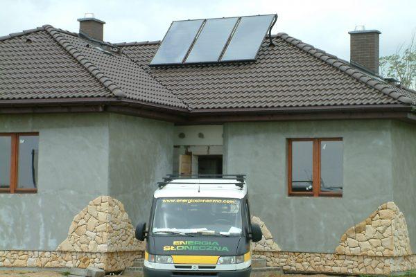 System solarny CWU Ludów Polski