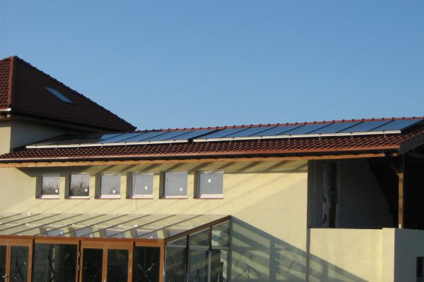 System solarny CWU Postołowo Agroturystyka