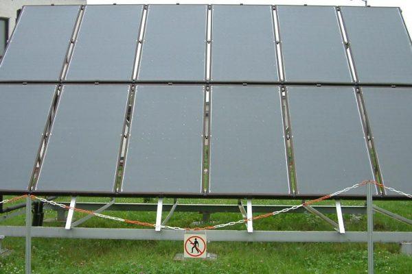 System solarny CWU Słowacja ZIAR