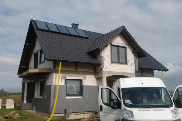 System Solarny CWU CO Uciechów